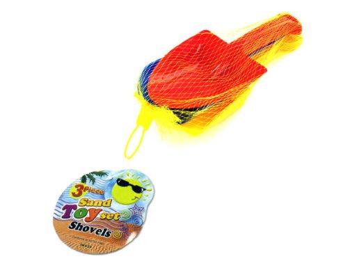 Bulk Buys SK029-24 9 Length Sand Toy Shovel Set - Pack of 24