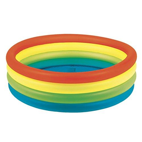 59 X 16 Neon Rainbow Kiddie Childrens Pool - Unique Design