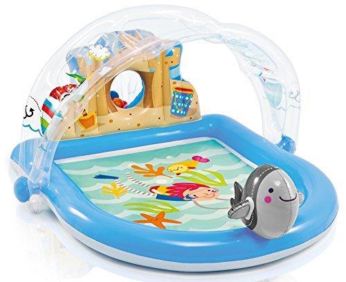 Intex Summer Lovin 170m x 150m Inflatable Beach Play Spray Childrens Pool 57421NP by Intex