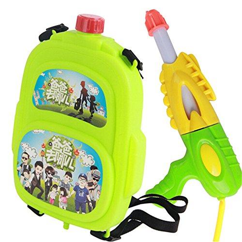 New Squirt Guns Water Gun Children Pool and Beach Supplies KidBackpack Water Gun Toys Large amount of water Long range