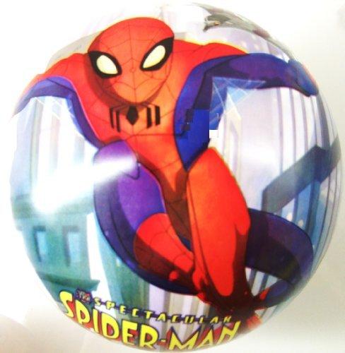 Spiderman PVC Plastic Football Play Beach Ball Kid Boy Party Child Pool Birthday Garden Summer Fun 23cm by Concept4u