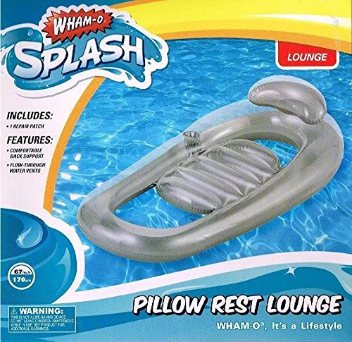 Wham-O Pillow Rest Lounge Swim Lounge Pool Lounge Float