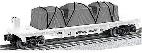 Lionel Trains National Guard US Made Flatcar