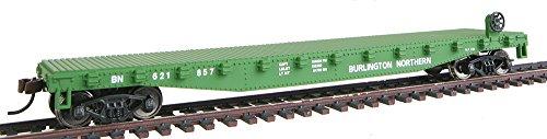 Walthers Trainline HO Scale Model  Burlington Northern Flatcar