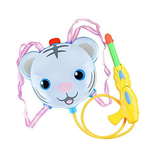 Kids Children Summer Cartoon Tiger Backpack Style Super Soaker Water Guns Great Water Blaster Water Shooter Beach Toys