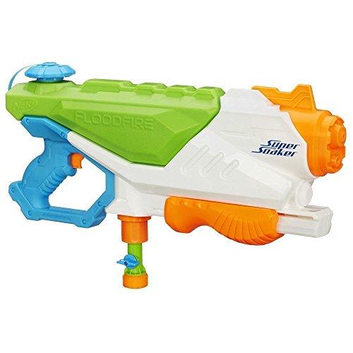 Super Soaker Flood Fire Water Gun Squirt Blaster NERF