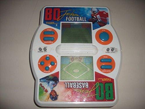 1990 Tiger Electronics Bo Jackson Electronic Hand Held Footballbaseball Game