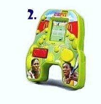 McDonalds Happy Meal ESPN Best of Sports Handheld Electronic Game Serena Venus Williams Tennis Game 2 by McDonalds