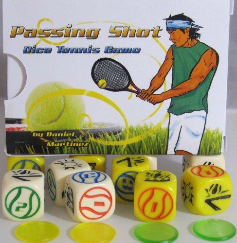 Passing Shot Dice Tennis Game