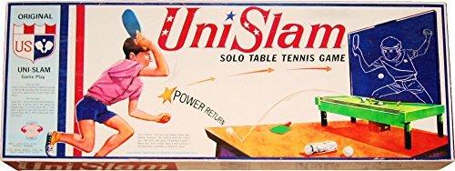 Unislam Vintage 1971 Solo Table Tennis Game by Kiddie World  Nomura Toys