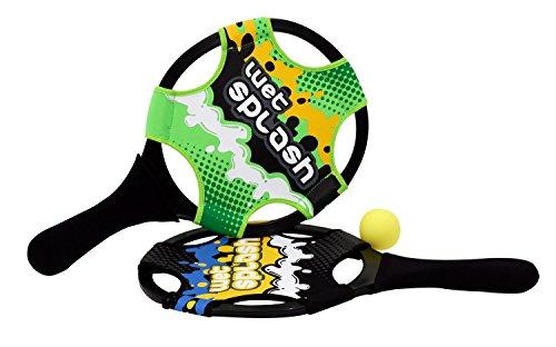 Wet Splash Smash Water Tennis Game - Rackets Ball - Colors May Vary