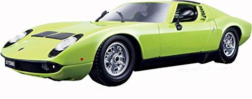 1968 Lamborghini Miura Green 118 Scale Diecast Metal Glourious Sports Car Toy
