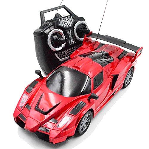 3CH BOHS Kids Radio Control Orange Yellow Remote Control RC Racing Racer Drift Sport Car Toy19cm Red