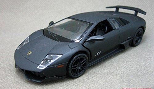 Super Sports Car Toy Figures for Kids Professional Sports Super Car Toy Car Lambo 2015 Super Car Toy for Kids - Black