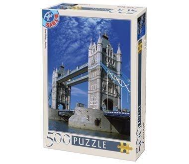 D-Toys Tower Bridge London Landscapes Jigsaw Puzzle 500 Pieces
