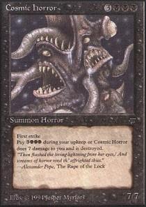 Magic the Gathering - Cosmic Horror - Legends