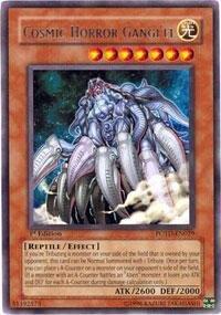 Yu-Gi-Oh - Cosmic Horror Gangiel POTD-EN029 - Power of the Duelist - Unlimited Edition - Rare