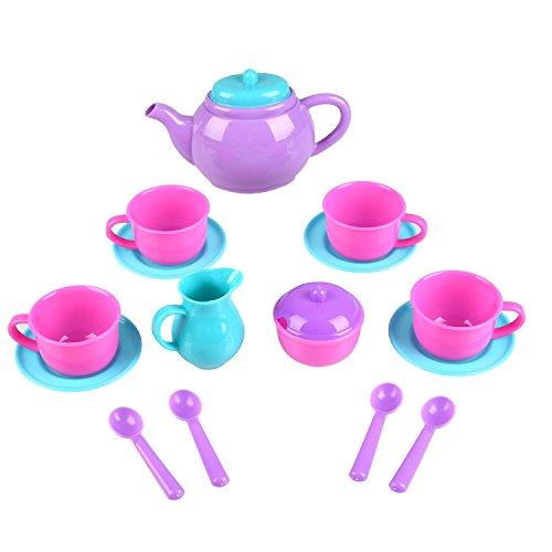 Peradix Pretend Play Tea Party Set Afternoon Tea Toys Random color