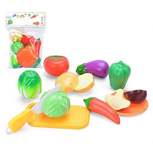 LianLe Children Educational Toys Plastic Cut Vegetable Kitchen ToysVegetable Set