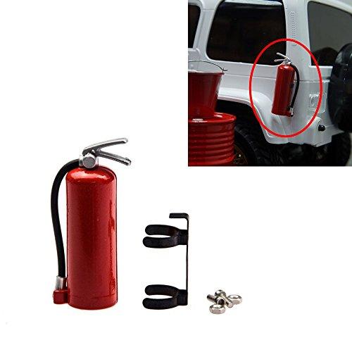 FAST-RC 1pcs 110 Scale Plastic Fire Extinguish for 110 RC Rock Crawler Car Accessory