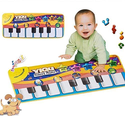New Music Sound Farm Animal Kids Baby Play Playing Mat Carpet Playmat Gym Toy Up