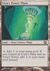 Magic the Gathering - Urza39s Power Plant - Eighth Edition - Foil
