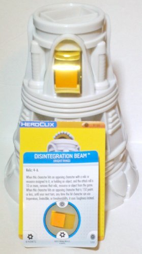 Marvel Heroclix Invincible Iron Man R100 Power Plant Limited Edition Object and R101 Disintegration Beam Ring with Cards by NECA
