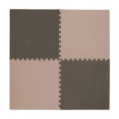4 Piece Playmat Set Color Taupe  Brown by Tadpoles