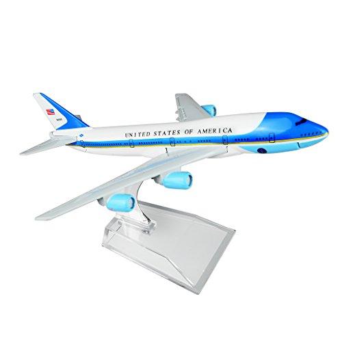 Airforce One Boeing 747 16cm Metal Airplane Models Birthday Gift