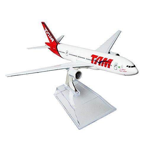 Brazil TAM Boeing 777 16cm Metal Airplane Models Child Birthday Gift Plane Models Home Decoration