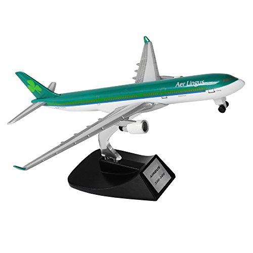 Ireland Airbus 330 14cm Metal Airplane Models Birthday Gift