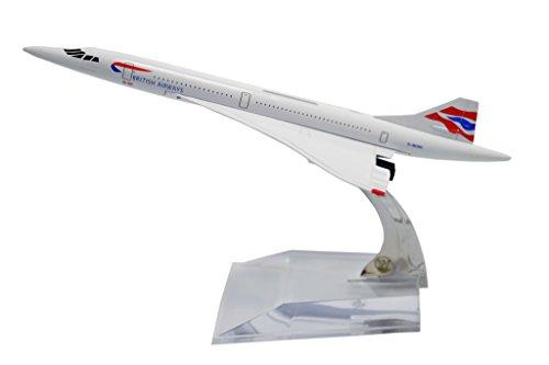 TANG DYNASTYTM 1400 16cm Concorde British Airways Metal Airplane Model Plane Toy Plane Model