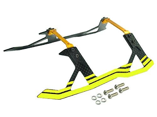 Microheli AluminumCarbon Fiber Landing Gear YELLOW - BLADE 250CFX  270CFX  300CFX