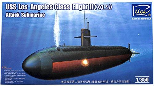 Riich 1350 USS Los Angeles Class Flight II VLS Attack Submarine Kit RN28006