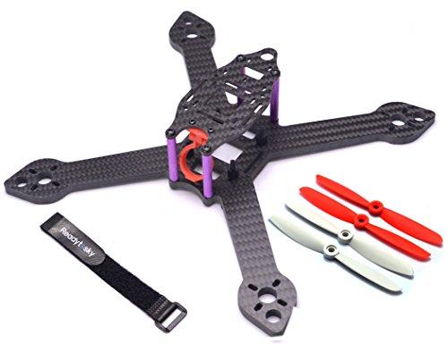 Readytosky X5 iX5 210mm Frame Kit For RC Racing Drone QAV-X Martian 3 true X Mini 210 Quadcopter 5mm Bottom 2mm top Carbon Fiber Aluminum Screws