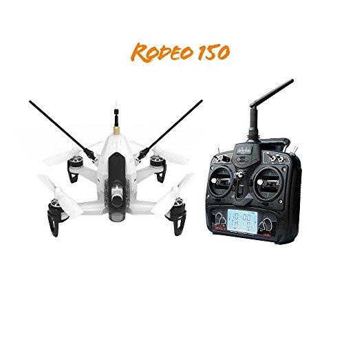 Walkera Rodeo 150 3D Aerobatic Mini FPV Racing Drone RTF W 58G 40CH TX  600TVL Night Vision Camera