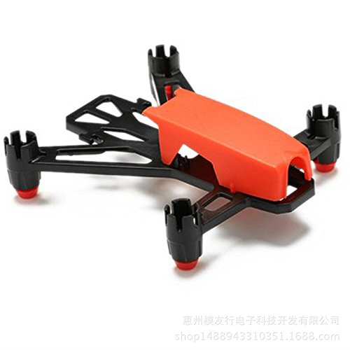 elegantstunning King-Kong Q100 Rack Micro Mini FPV Carbon Fibre RC Quadcopter Frame Kit Red