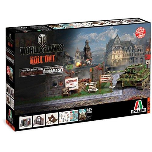 135 World Of Tanks Himmelsdort Diorama Model Set