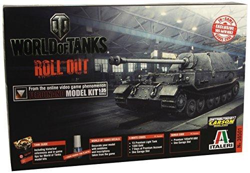 Italeri 135 World of Tanks Roll Out - Ferdinand  36501 by Italeri