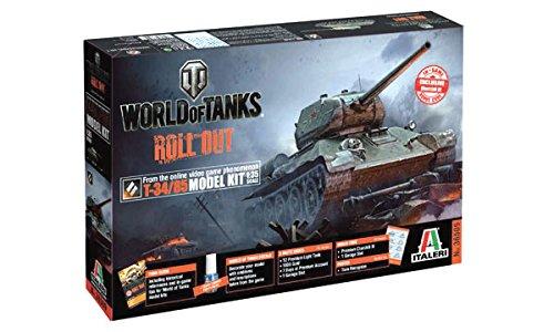 Model Kit - World Of Tanks T-3485 - 135 Scale