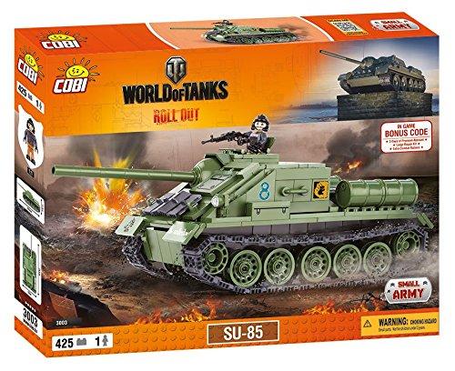 World of Tanks 3003Tank Destroyer SU-85 425 building bricks by Cobi
