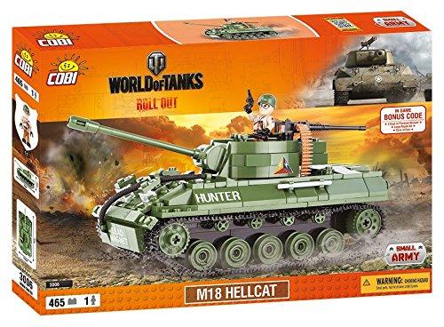 World of Tanks 3006M18 Hellcat 465 building bricks by Cobi