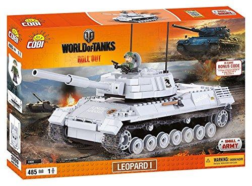 World of Tanks 3009 LEOPARD 1 485 building bricks by Cobi