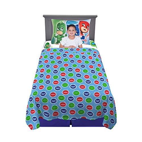 Franco Kids Bedding Super Soft Sheet Set 3 Piece Twin Size PJ Masks