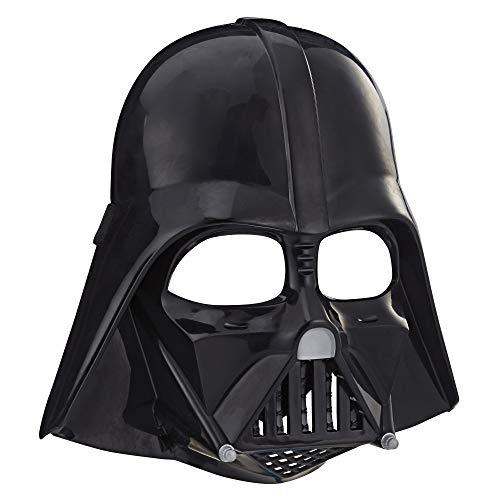 Star Wars Darth Vader Mask for Kids Roleplay Costume Dress Up Toys for Kids Ages 5 Up