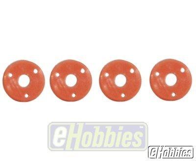 Losi Shock Pistons 56 Red 4 LOSA5046