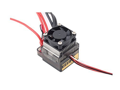 Ericoco New 320A 72V-16V Brushed ESC Speed Controller for RC Car Truck Boat