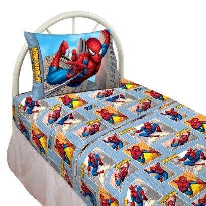 Marvel Spiderman Webslinger Twin Size Sheets Set