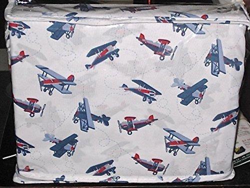 sky hawk TWIN SIZE sheet set airplanes airplane bi-plane