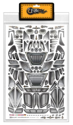 FireBrand RC • Decal Sheet Air-Intakes Vents